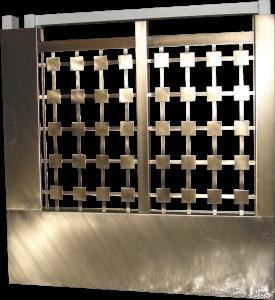 Πόρτες και κάγκελα απο ορείχαλκο